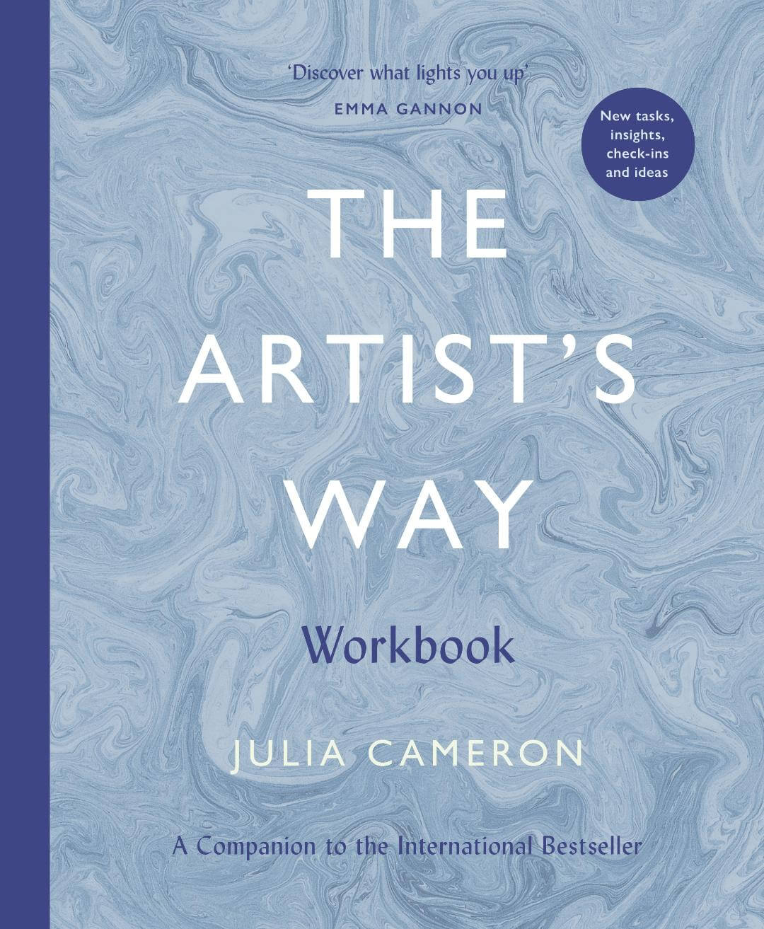 The Artist's Way Workbook - UK 2020 Book Cover